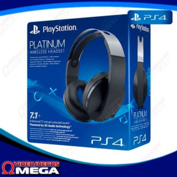 headset platinum sony ps4